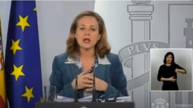 El Gobierno prevé un desplome de la economía española del 9,2% en 2020