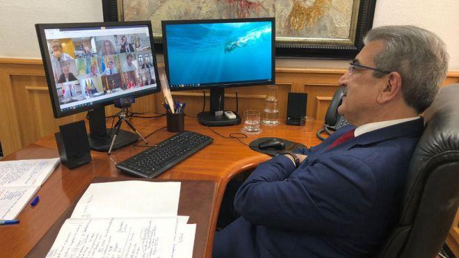 Rodríguez emplaza al Gobierno central a una reunión bilateral donde negociar mayores compensaciones para Canarias