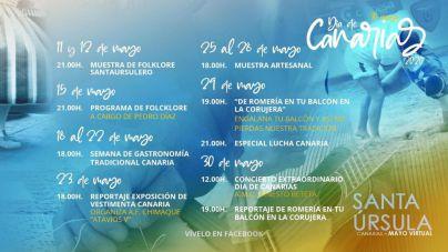Santa Úrsula elabora una intensa programación 'online' para celebrar el Día de Canarias