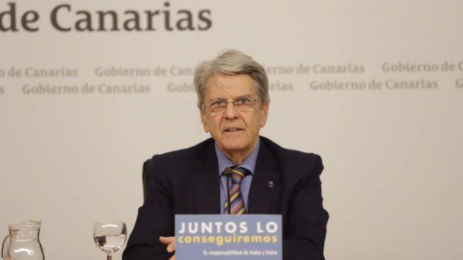Julio Pérez avanza un sistema de control en puertos y aeropuertos para evitar contagios