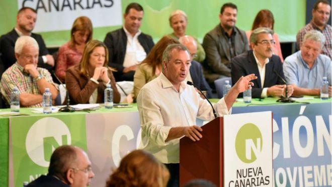 Nueva Canarias valora la creación de un marco de relaciones bilaterales entre Canarias y el Estado