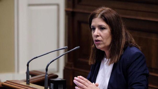 Carmen Hernández hace un llamamiento a la oposición para afrontar desde la unidad el reto social del Covid19