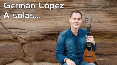 """El timplista Germán López protagonista de Salón Guimerá con """"A solas…"""""""