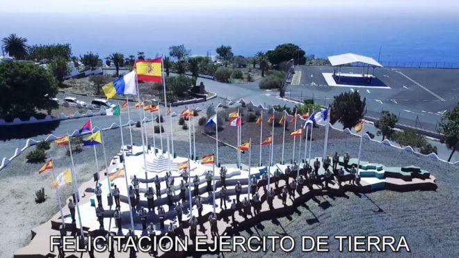 El Mando de Canarias felicita al pueblo canario en su día más especial