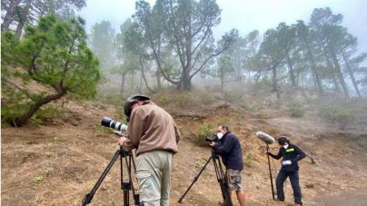 La Palma recupera de la mano de Sodepal los rodajes con un documental y dos campañas de publicidad