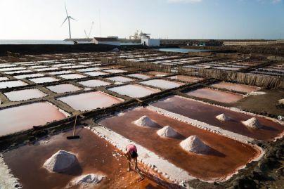 Los aborígenes aprovechaban charcos naturales, mareas, sol y viento para obtener sal