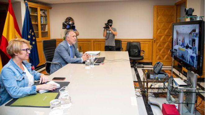 Canarias y España retoman la agenda para impulsar la candidatura de La Palma para albergar el TMT