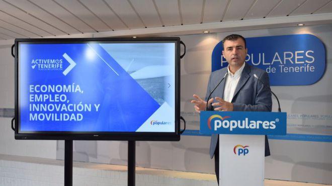 """El PP presenta el plan """"Activemos Tenerife"""" una iniciativa para que la isla salga reforzada social y económicamente"""