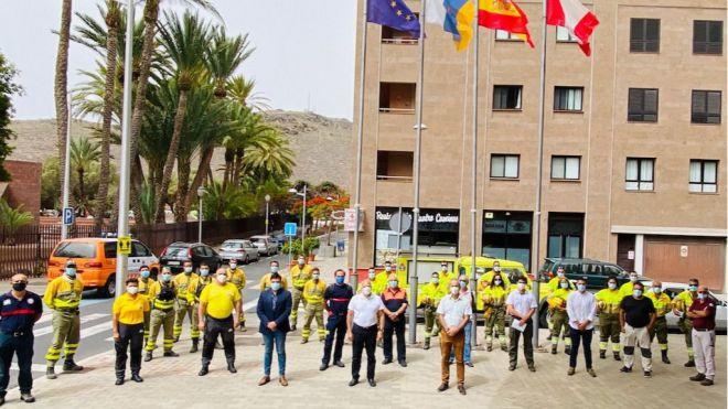 El Cabildo presenta la campaña de extinción de incendios con 200 efectivos y 1,4 millones de euros de inversión
