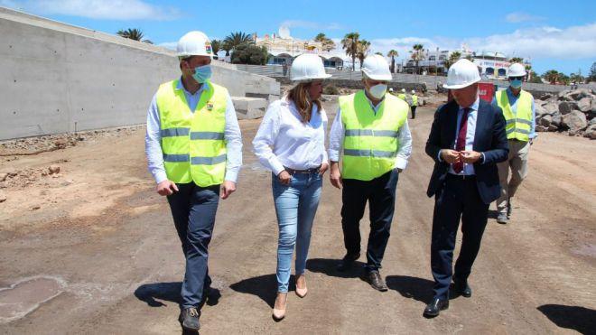 El Gobierno garantiza a Yaiza la finalización del puerto en diciembre de 2021