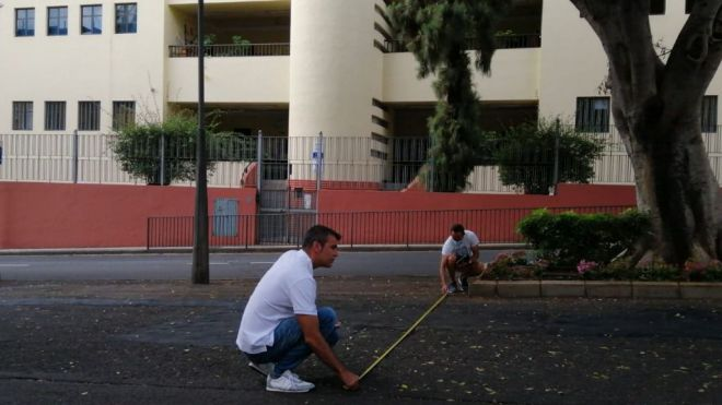 Santa Cruz inicia las obras de un nuevo parque infantil en la Rambla