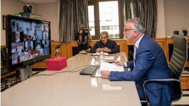 El Gobierno y la Federación Canaria de Municipios celebran su primera reunión oficial