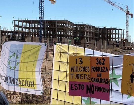 El Gobierno de Canarias exige al Ayuntamiento que suspenda la construcción del hotel de La Tejita