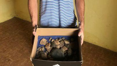 Donan restos arqueológicos al Museo Benahoarita, que revelan un nuevo yacimiento