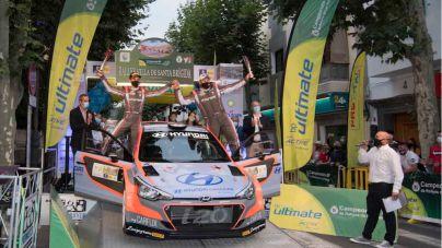 Yeray Lemes, Rogelio Peñate y el Hyundai i20 R5 vencen en el XXXVI Rally Villa de Santa Brígida.