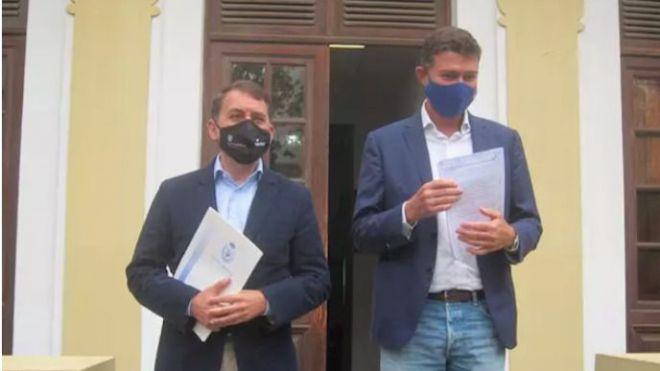Bermúdez justifica la censura por la 'involución' y falta de estabilidad en la ciudad