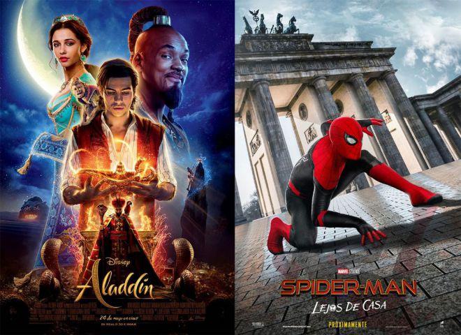 Las últimas películas de Aladdin y Spider-Man abren el cine de verano en San Sebastián de La Gomera