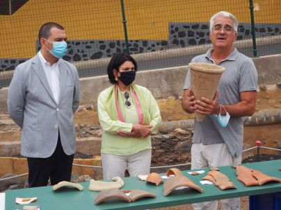 Patrimonio Cultural y Ayuntamiento de Guía se comprometen a recuperar el ingenio azucarero