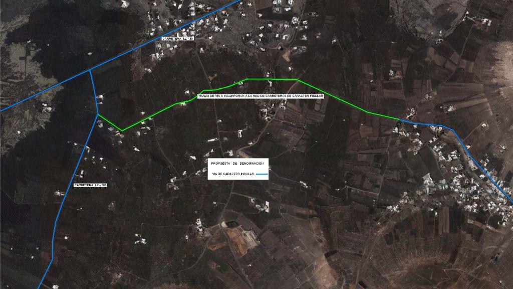 Tías propone que las carreteras LZ 503 y 506 sean insulares y un tramo de la LZ35 sea local