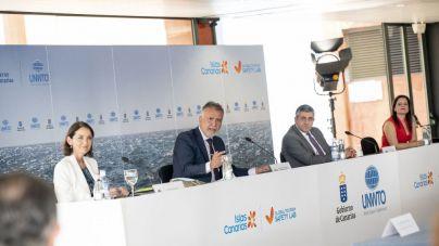 """Canarias muestra a la OMT las excelencias de un destino que """"da un paso más"""" para reactivar el turismo"""