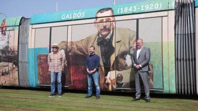 Tranvía de Tenerife viaja con Galdós