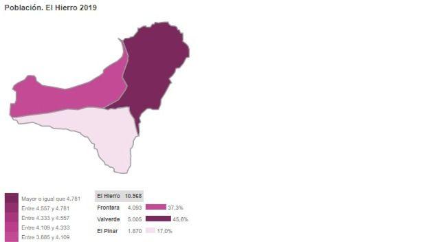 El ISTAC presenta una nueva herramienta de visión online de mapas estadísticos interactivos