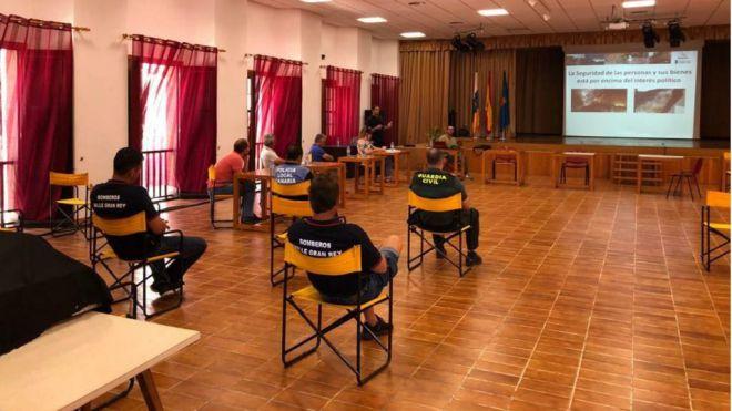 Valle Gran Rey avanza en la actualización del Plan de Emergencias Municipal