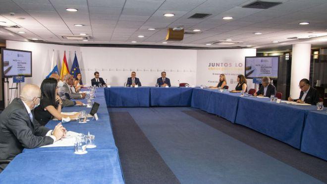 El Plan para la Reactivación Social y Económica de Canarias contempla 914 millones para 2020