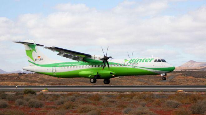 Binter amplía su frecuencia de vuelos diarios en Canarias hasta los 164