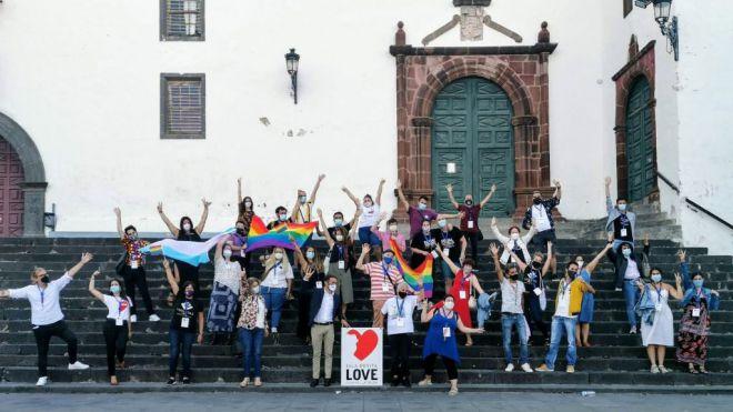 La Palma concentra a todas las asociaciones LGTBI de Canarias para compartir vivencias de la covid