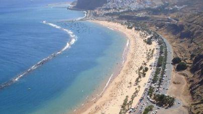 Santa Cruz no tiene previsto implantar este fin de semana la cita previa para la playa