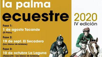 Arranca La Palma Ecuestre con 14 carreras de caballos en El Paso