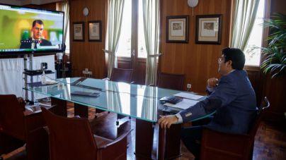 Martín traslada a Reino Unido e Irlanda la seguridad sanitaria de Tenerife y de Canarias
