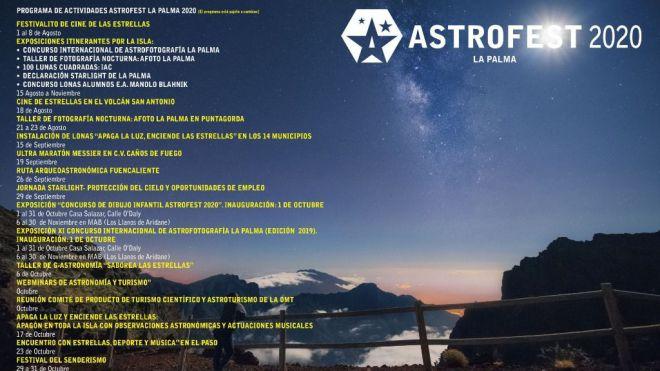 'Astrofest' reivindica La Palma como referente internacional para el astroturismo