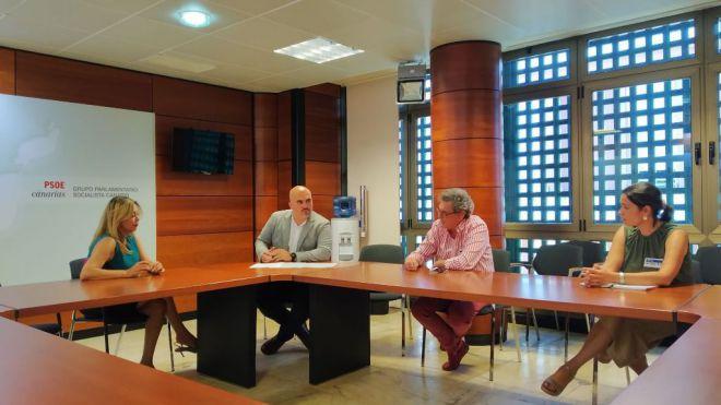 Gesplan ofrece a los cabildos su experiencia en planeamiento, medioambiente y planes de empleo