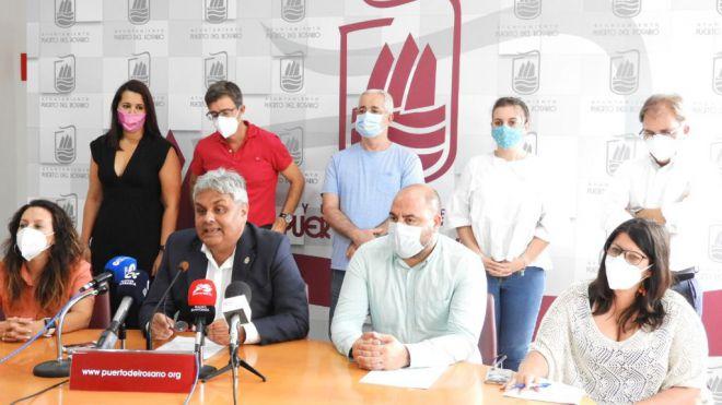 El alcalde Juan Jiménez valora la gestión del año de gobierno