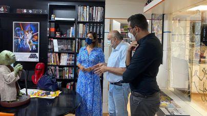 Santa Cruz traslada su apoyo a la Fundación Cine + Cómics