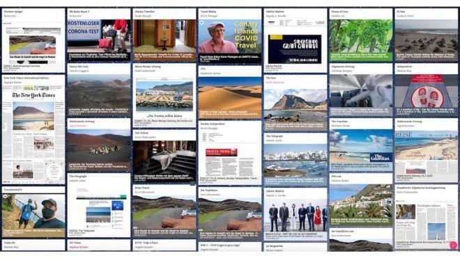 El mensaje de Canarias 'destino seguro' llegó a 239 millones de personas tras el vuelo de la OMT