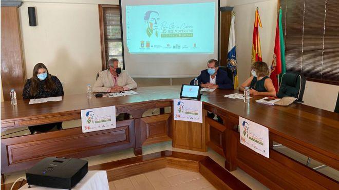 Vallehermoso celebra el 115 aniversario del nacimiento de Pedro García Cabrera