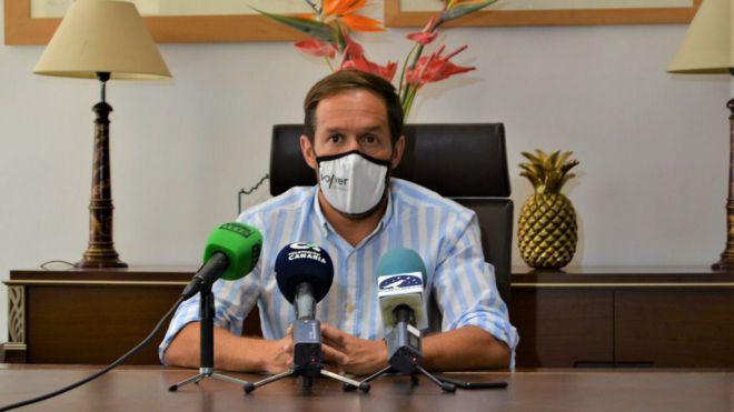 """""""La seguridad y la economía de La Palma deben ser una prioridad para todas las administraciones"""""""