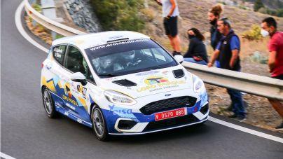 Test en Atogo para el equipo de rallye de la red Ford y Archiauto