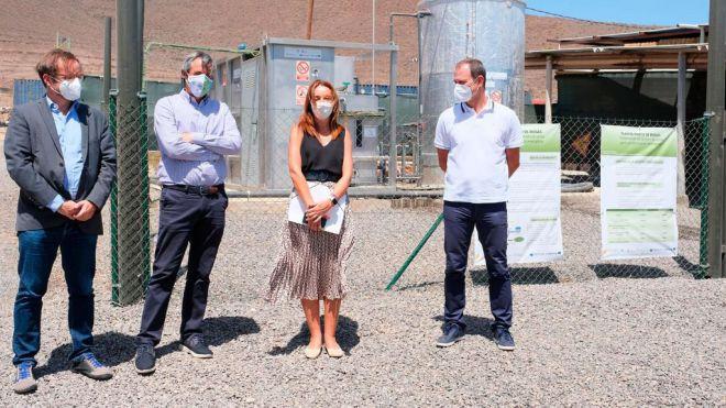 Inaugurada en Agüimes la primera planta de producción de biogás a partir de residuos ganaderos