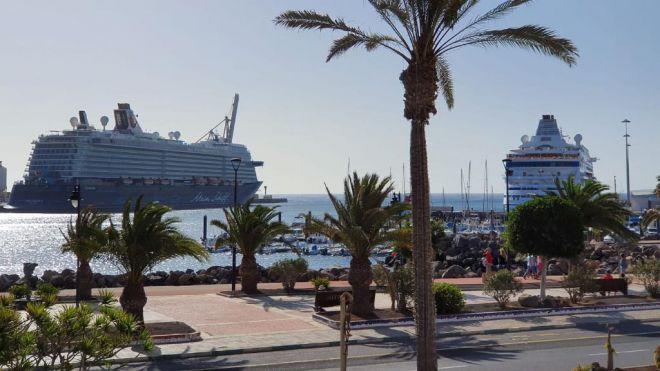 El muelle de Puerto del Rosario recibirá los primeros cruceros en el mes de noviembre