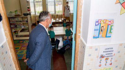 Canarias arranca la actividad lectiva con la incorporación de más de 160.000 escolares