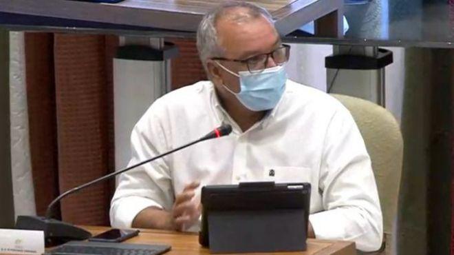 """Luis Campos cree """"determinantes"""" los 500 millones de carreteras para los presupuestos canarios de 2021"""