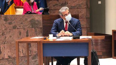 """Rodríguez defiende la tramitación en plazo de los Presupuestos para mantener las """"constantes vitales"""" de Canarias"""