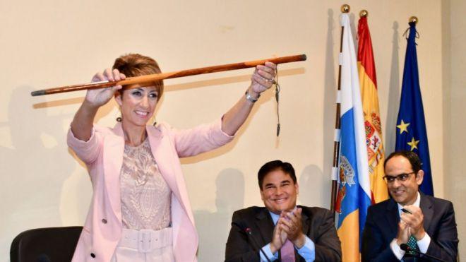 Detienen a la alcaldesa de Mogán, Onalia Bueno, y registran el Ayuntamiento