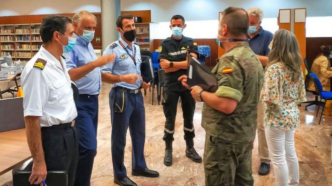 """La Brigada """"Canarias"""" XVI releva a la UME como autoridad militar de rastreadores de COVID"""