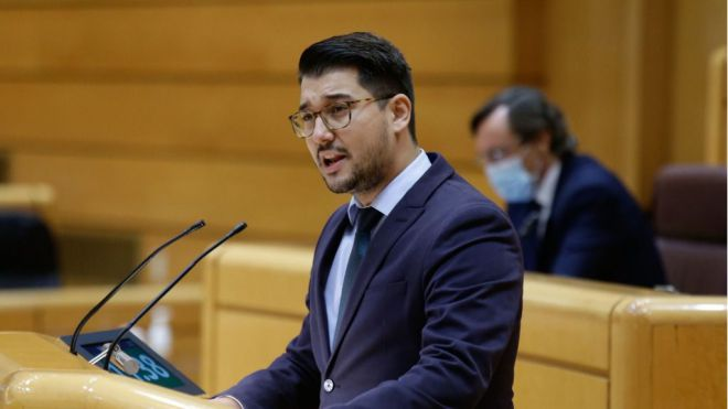 El Senado aprueba una moción de Chinea para impulsar el triángulo marítimo de las islas verdes