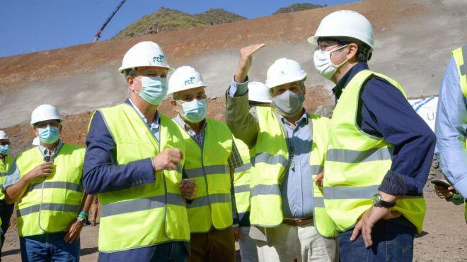 Obras Públicas inicia la excavación del túnel de Erjos, entre Santiago del Teide y El Tanque